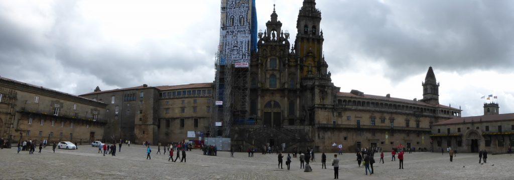 Santiago Cathedral on the Plaza Obradoiro